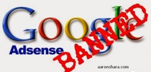 Banned From AdSense? AdSense Account Disabled?