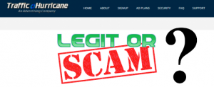 Traffic Hurricane Review – Good Business Or Just A Big Online Scam?