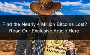 Find the Nearly 4 Million Bitcoins Lost?