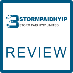 Storm Paid HYIP Review – Scam or Legit Company?