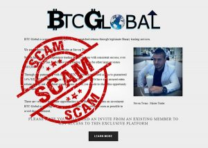 BTC Global Scam – Sorry To All That Lost Here!