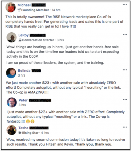 Rise Network Reviews Members Results